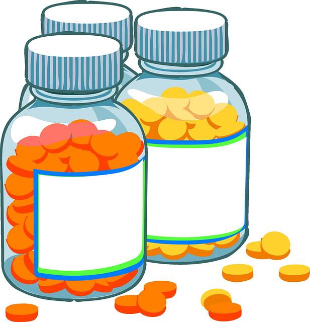 generic drug pill bottles