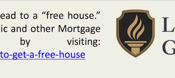 """These defenses will not always lead to a """"free house."""" Learn More about this Infographic and other Mortgage Foreclosure Defenses by visiting: www.lightgonzalezlaw.com/how-to-get-a-free-house"""